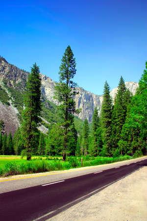 The Yosemite Valley in Yosemite National Park, California Stock Photo - 614119
