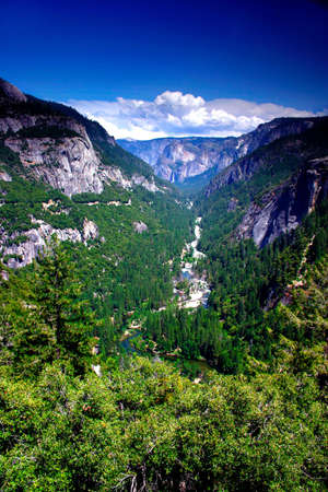 The Yosemite Valley in Yosemite National Park, California Stock Photo - 614104