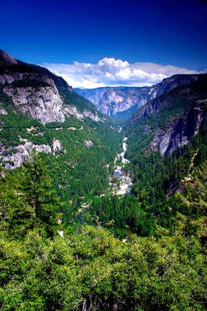 The Yosemite Valley in Yosemite National Park, California Stock Photo - 614104