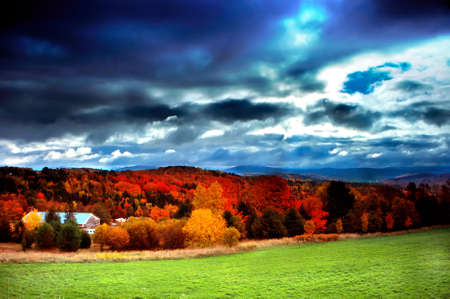 Fall foliage at Vermont, USA