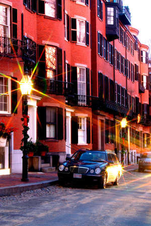 exceptionally: Beacon Hill is a fascinating, early 19th century neighborhood with narrow streets. The row houses are nearly all in brick in Federal, Victorian and Georgian styles. This National Historic District is exceptionally well-preserved, with well maintained hous