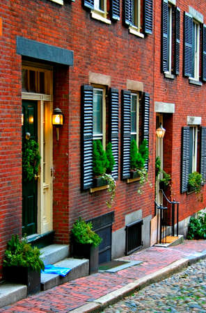 maintained: Beacon Hill is a fascinating, early 19th century neighborhood with narrow streets. The row houses are nearly all in brick in Federal, Victorian and Georgian styles. This National Historic District is exceptionally well-preserved, with well maintained hous