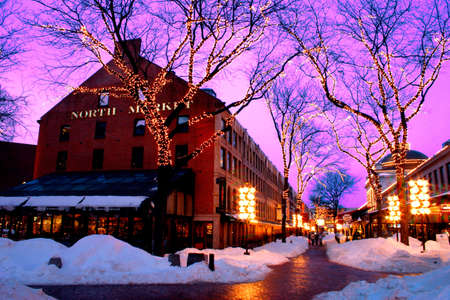 snow house: Its the seat of American history and the site of one of Americas most famous shopping and dining experiences - Faneuil Hall Marketplace.� For over 250 years, the marketplace has played an integral role in the life of Bostons residents.�