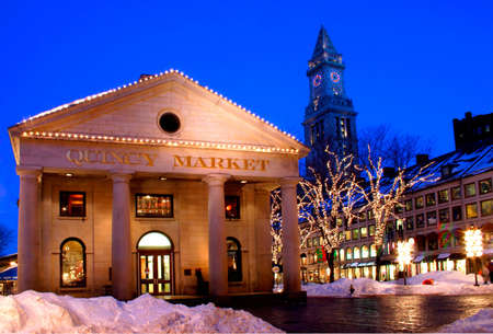 Its the seat of American history and the site of one of Americas most famous shopping and dining experiences - Faneuil Hall Marketplace.� For over 250 years, the marketplace has played an integral role in the life of Bostons residents.�   photo