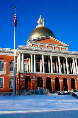 Massachusetts State House   photo