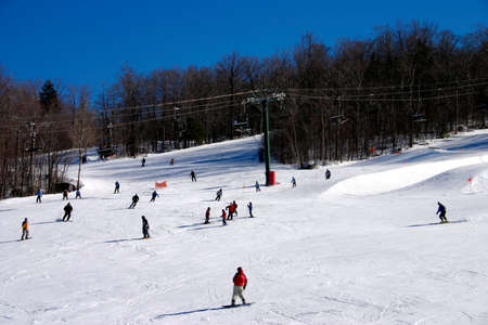 New Hampshire skiing    photo