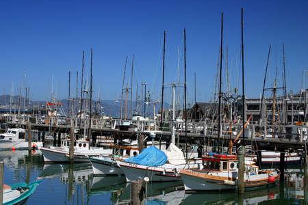 Fisherman's Wharf est un quartier et une attraction touristique populaire � San Francisco, Californie, Etats-Unis