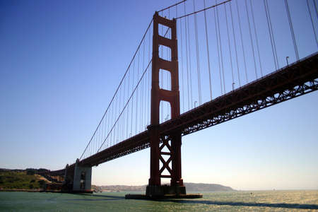 The Golden Gate Bridge was the largest suspension bridge in the world when it was completed in 1937 and has become an internationally recognized symbol of San Francisco. It is currently the second longest suspension bridge in the United States after the V photo