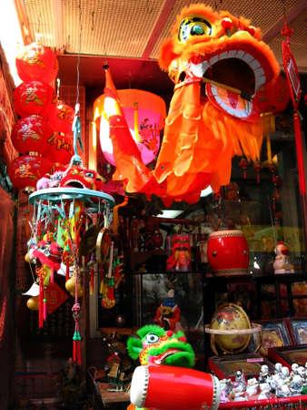 New York Chinatown, USA   Stock Photo