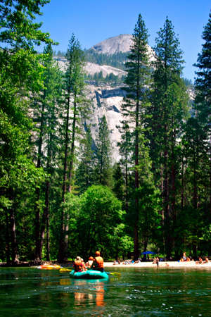 The Yosemite Valley in Yosemite National Park, California Stock Photo - 652760