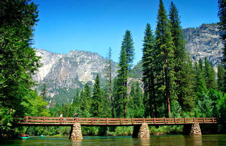 The Yosemite Valley in Yosemite National Park, California Stock Photo - 652762