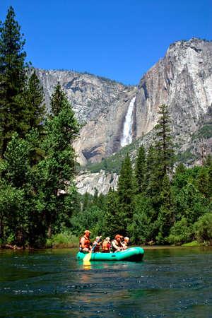 The Yosemite Valley in Yosemite National Park, California Stock Photo - 652763