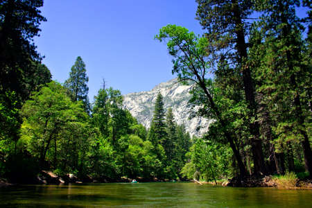 The Yosemite Valley in Yosemite National Park, California Stock Photo - 652734