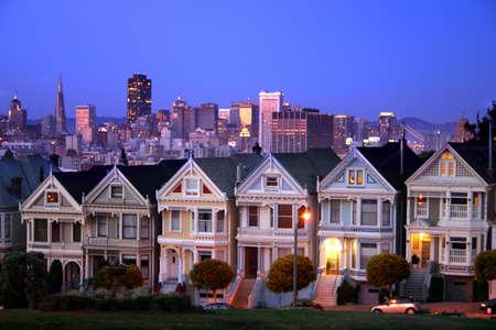 residential neighborhood: Alamo Square is a residential neighborhood and park in San Francisco, California.