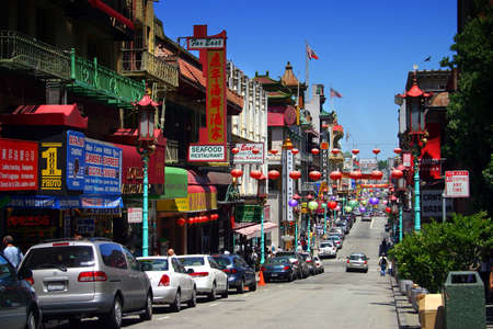 San Franciscos Chinatown is one of North Americas largest Chinatowns. It is also the oldest Chinatown. Established in the 1850s, it has been featured in popular culture, such as in film, music, photography, and literature