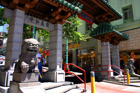 frisco: San Franciscos Chinatown is one of North Americas largest Chinatowns. It is also the oldest Chinatown. Established in the 1850s, it has been featured in popular culture, such as in film, music, photography, and literature