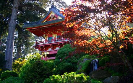Japanese tea garden at Golden Gate Park, San Francisco, California