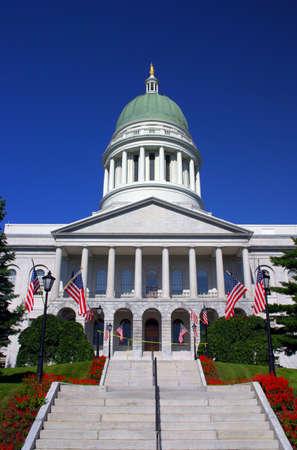 augusta: Casa del estado de Maine en Augusta, Maine