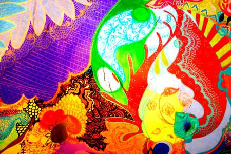 Contexte artistique Banque d'images