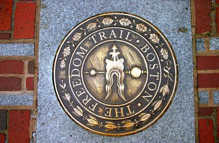 Freedom Trail, Boston Stock Photo - 837058