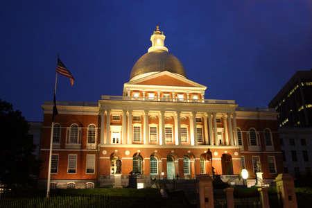 Massachusetts State House, Boston     photo