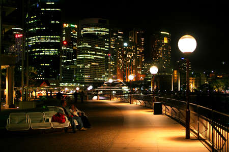 A view of Sydneys skyline from the Sydney Opera House