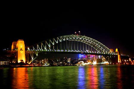 Une vue de Sydney Harbour Bridge
