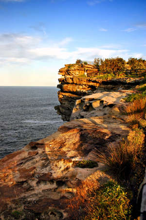 The Gap, a spectacular ocean cliff at Watsons Bay, near South Head, Sydney Stock Photo - 1319891