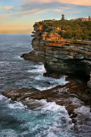 The Gap, a spectacular ocean cliff at Watsons Bay, near South Head, Sydney Stock Photo - 1319889