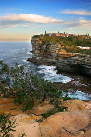 The Gap, a spectacular ocean cliff at Watsons Bay, near South Head, Sydney Stock Photo - 1319921
