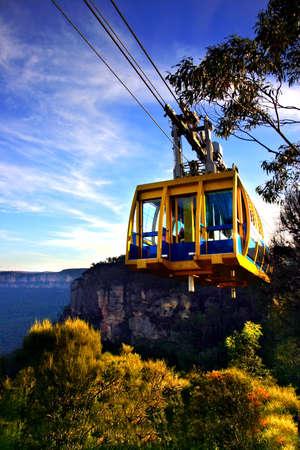 Le parc national de montagnes bleues est un parc national au nouveau Pays de Gales Du sud, Australie