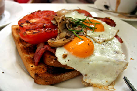 Stock photo of western breakfast and coffee Stock Photo - 1657241