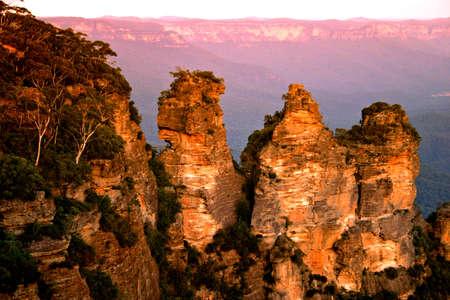 The Blue Mountains National Park est un parc national en Nouvelle-Galles du Sud, Australie