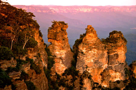 The Blue Mountains National Park is a national park in New South Wales, Australia Stock Photo - 1666098