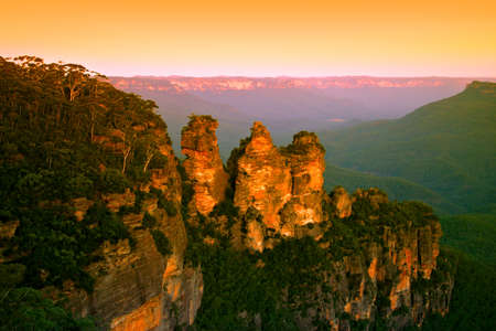 The Blue Mountains National Park is a national park in New South Wales, Australia Stock Photo - 1684083