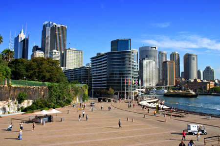 Stock image of Circular Quay at Sydney, Australia
