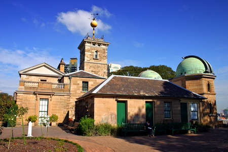 Historic building and architecture of the Sydney Observatory     photo