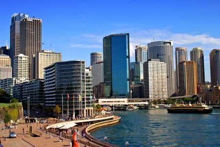 Stock Bild des Circular Quay in Sydney, Australien  Standard-Bild