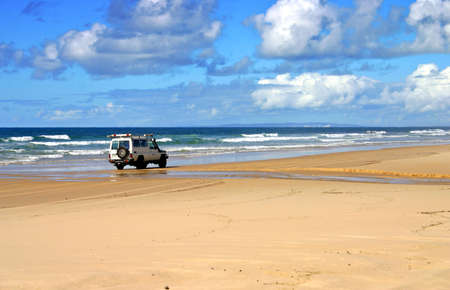 seafronts: Fraser Island, Australia is the largest sand island in the world