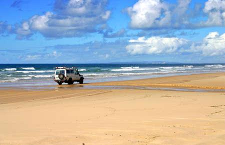 Fraser Island, de l'Australie est la plus grande �le de sable du monde