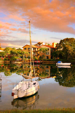 Noosaville, Sunshine Coast, Australie Banque d'images