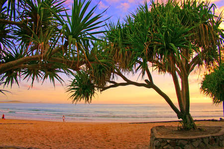 Sunrise at Noosaville, Sunshine Coast, Australia Stock Photo - 2183376