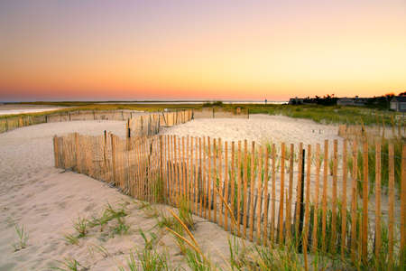 Cape Cod is an arm-shaped peninsula nearly coextensive with Barnstable County, Massachusetts[1] and forming the easternmost portion of the state of Massachusetts, in the Northeastern United States. The Cape's small town character and beachfront brings hea Stock Photo - 2537466