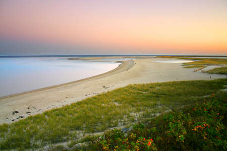 Cape Cod is an arm-shaped peninsula nearly coextensive with Barnstable County, Massachusetts[1] and forming the easternmost portion of the state of Massachusetts, in the Northeastern United States. The Capes small town character and beachfront brings hea photo