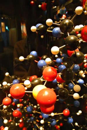 nucleotides: Imagen com�n de una estructura de la DNA en el modelo 3D