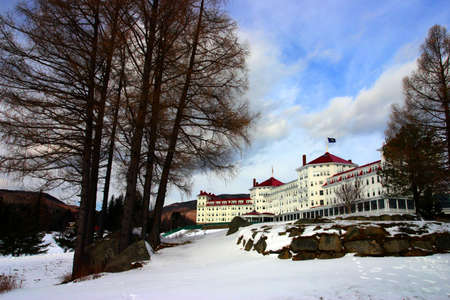 Winter at Bretton Woods, New Hampshire Stock Photo - 2793134