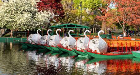 Boston Common and Public Garden, USA  Stock Photo - 3558377
