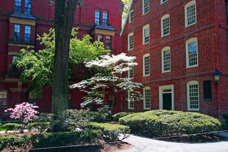 Harvard est la plus ancienne institution d'enseignement sup�rieur aux �tats-Unis Banque d'images
