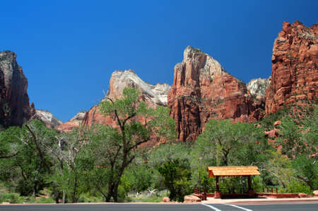 Court of the Patriarchs, Zion National Park, USA   photo