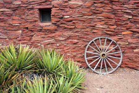 hopi: Adobe, Pueblo, Hopi di architettura in stile House, Grand Canyon National Park Archivio Fotografico